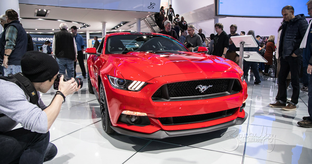 The North American International Auto Show in Detroit