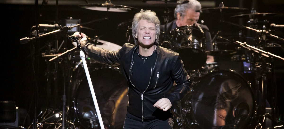 Bon Jovi Farewell To Joe Louis Arena