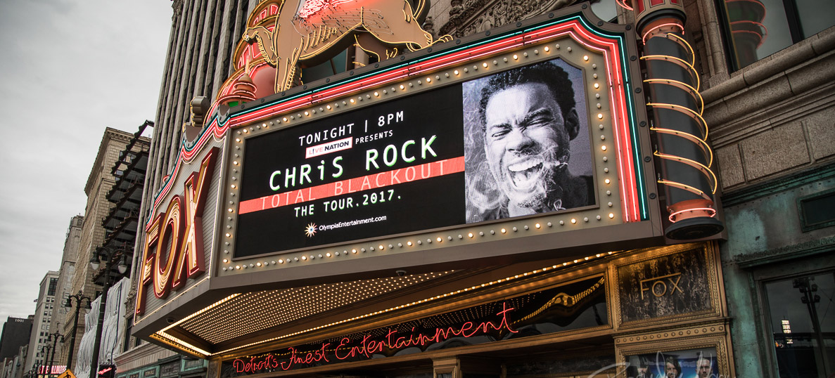 Chris Rock's 'Total Blackout' The Tour at The Fox