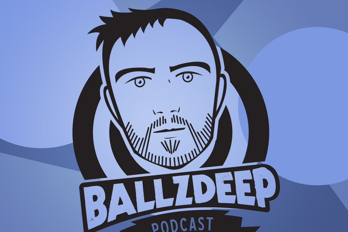 New logo design! BallzDeep