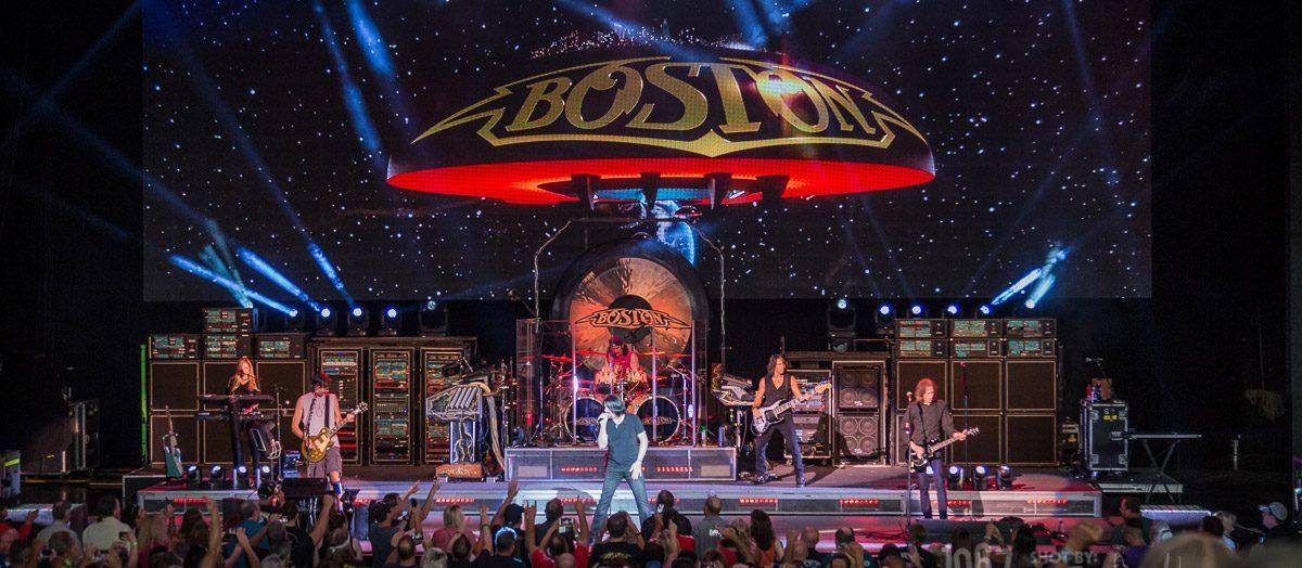 Boston Rocks Detroit