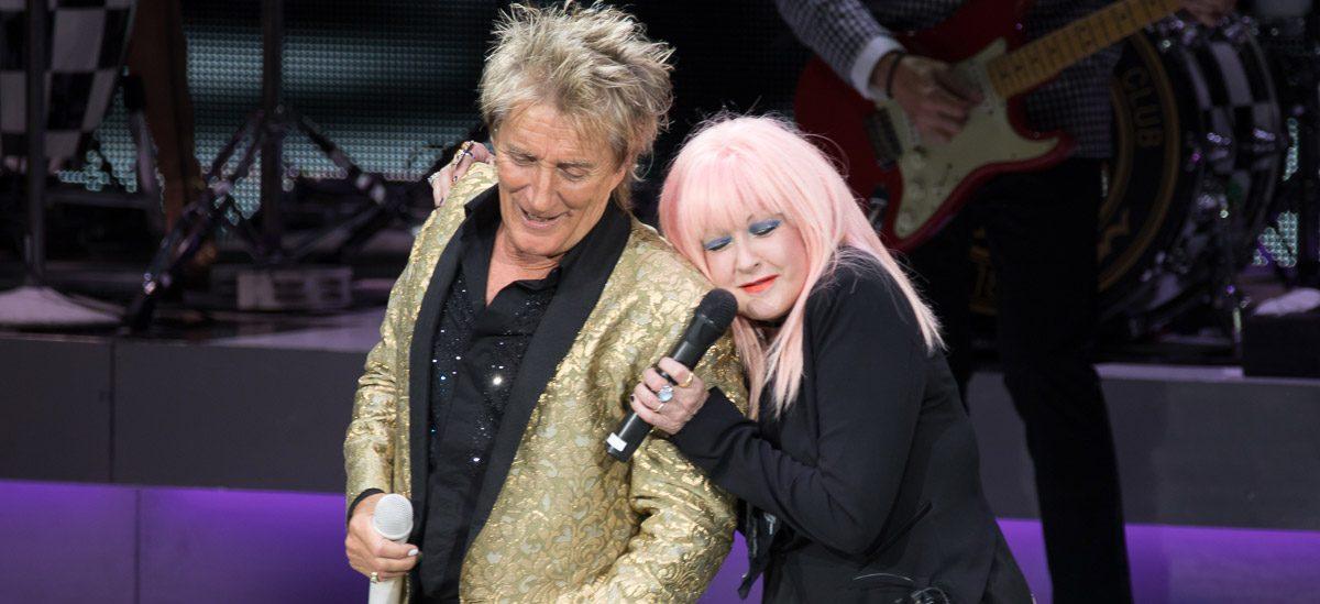 Rod Stewart + Cyndi Lauper