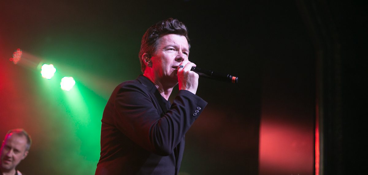 Rick Astley at St. Andrews