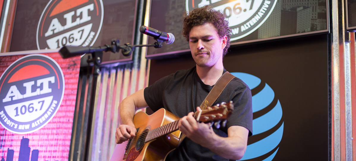 Vance Joy at ALT 1067