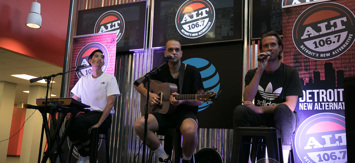 Sir Sly at ALT 1067