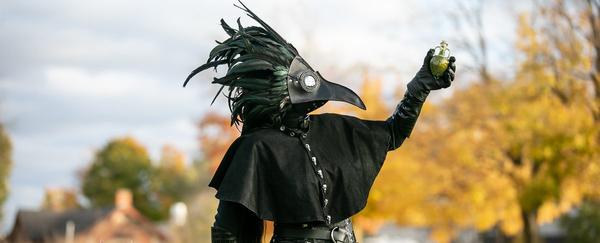 Spooky Plague Doctor Photoshoot