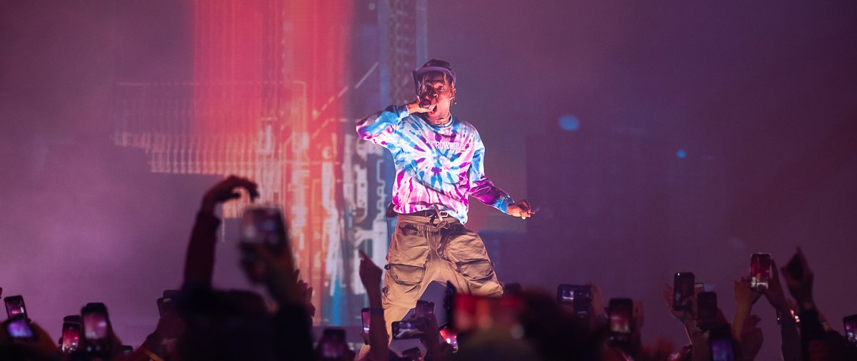 Travis Scott Astro World at Little Caesars Arena
