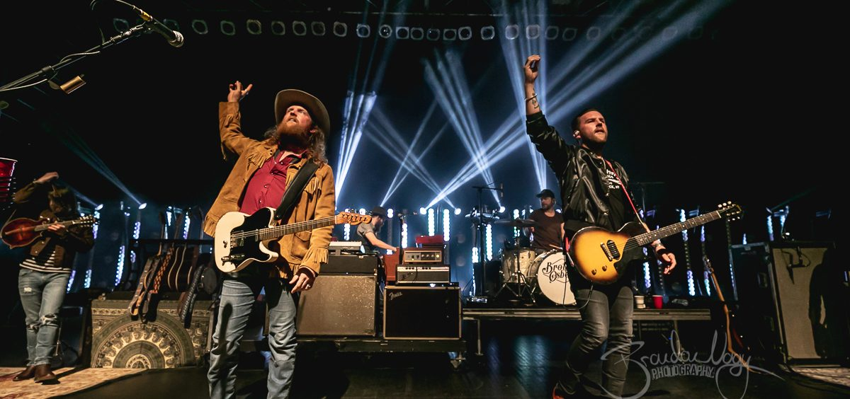 The Brothers Osborne in concert, The Fillmore, Detroit, USA 11 Jan 2019