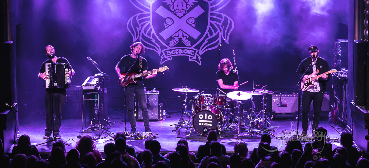 Kongos in concert, St. Andrews Hall, Detroit, USA - 24 Jan 2019
