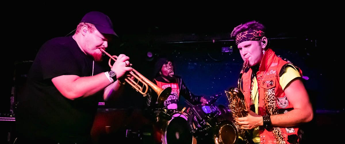 Too Many Zooz in concert, The Blind Pig, Ann Arbor, USA - 11 Feb 2019