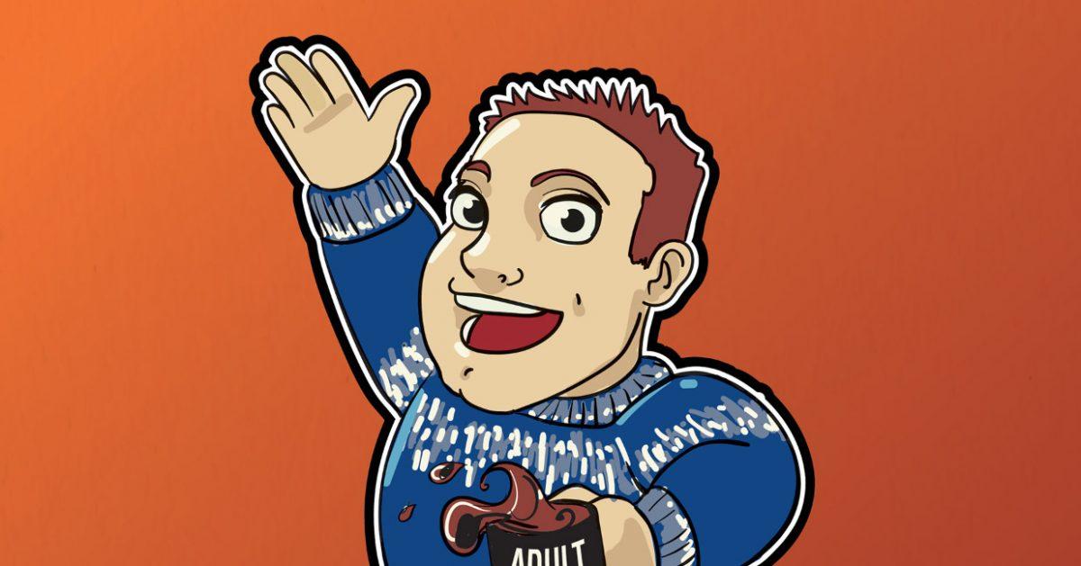 Mr. Gibbons of Adult Swim
