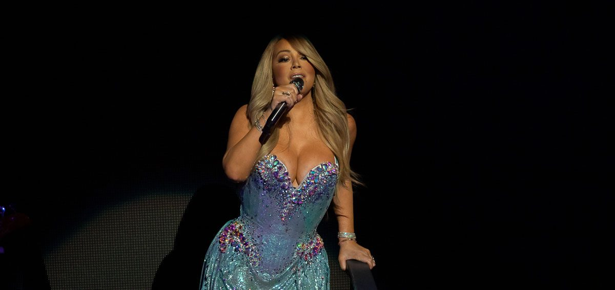 Mariah Carey in concert, Fox Theatre, Detroit, USA - 8 March 2019