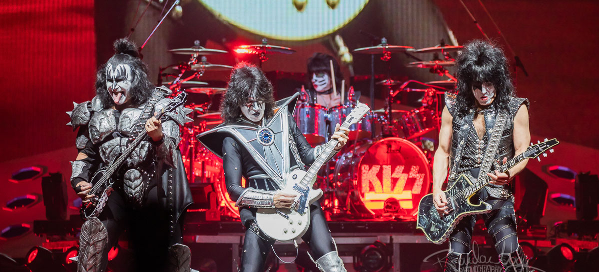 Kiss performs live at Van Andel Arena, Grand Rapids, USA - 9 March 2019