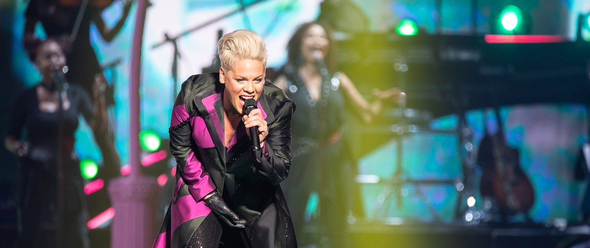 Pink at Little Caesars Arena