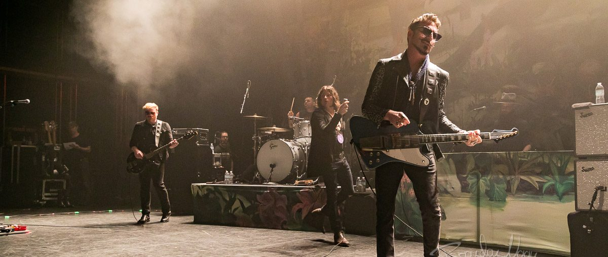 Rival Sons in concert, The Fillmore, Detroit, USA - 23 April 2019