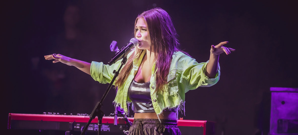 Abby Anderson in concert, Meadow Brook Amphitheatre, Rochester Hills, USA - 01 Jun 2019