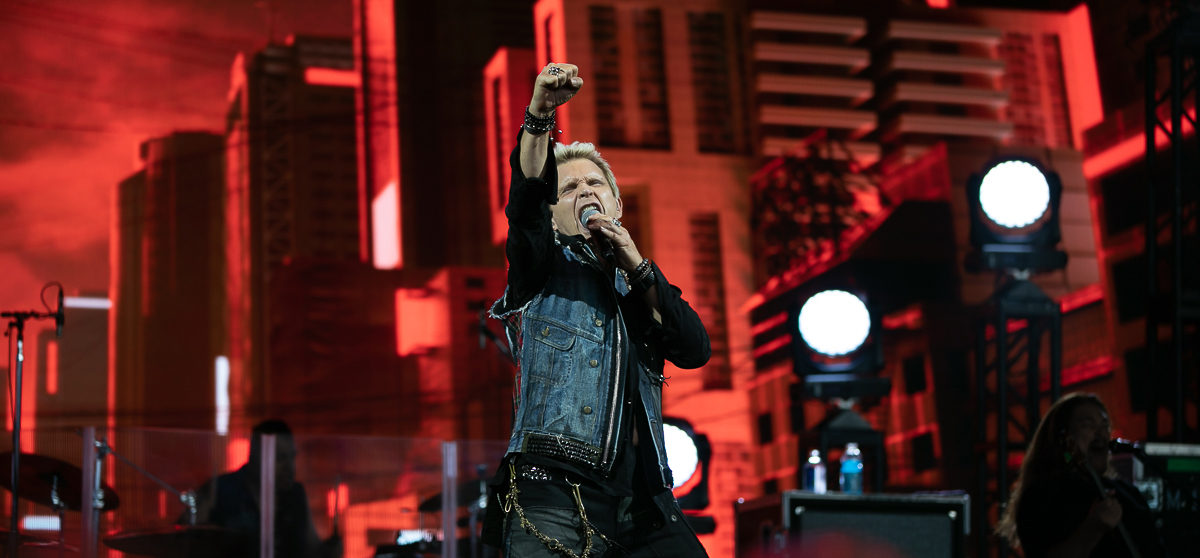 Billy Idol in concert, DTE Energy Music Theatre, Clarkston, USA - 7 Aug 2019