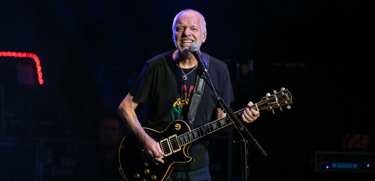 Peter Frampton in concert, DTE Energy Music Theatre, Clarkston, USA - 25 July 2019