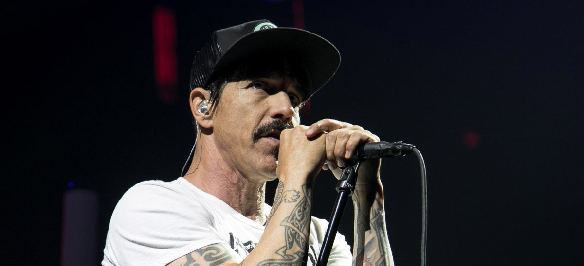 The Red Hot Chili Peppers at Joe Louis Arena