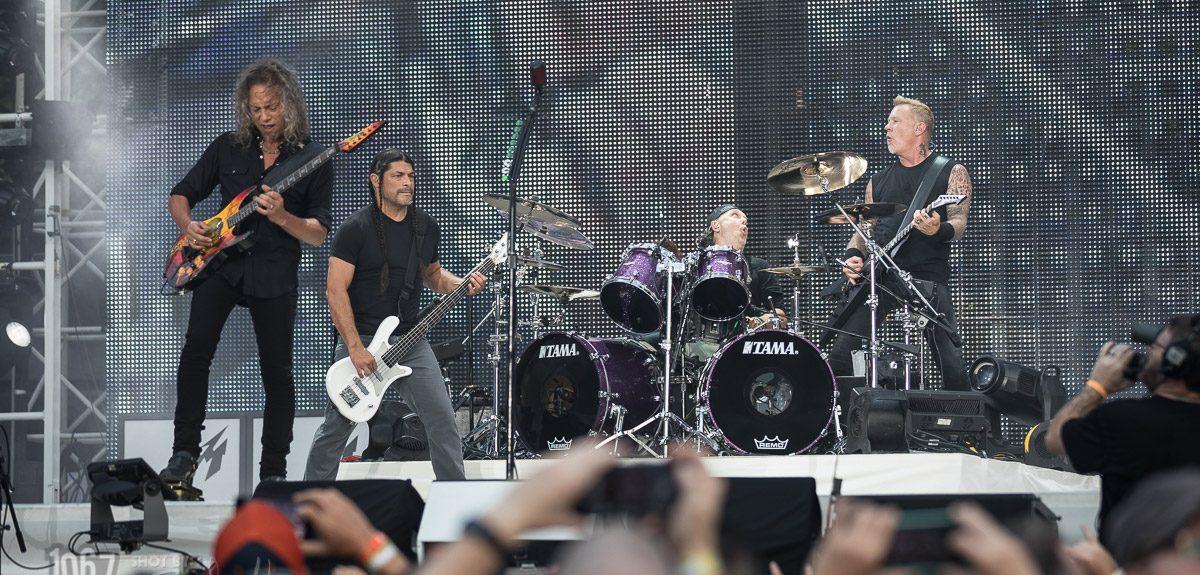Metallica, A7X, Volbeat @ Comerica