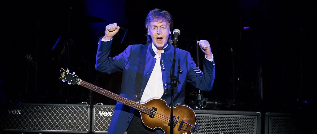 Paul McCartney in Detroit