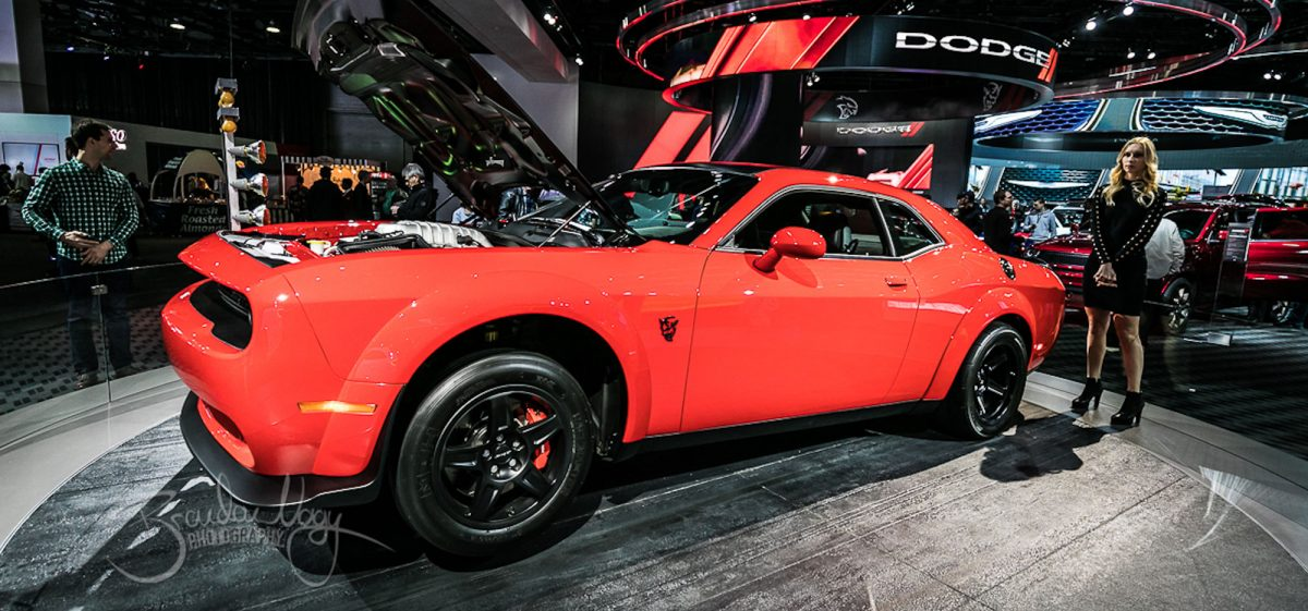 2018 Auto Show at Cobo