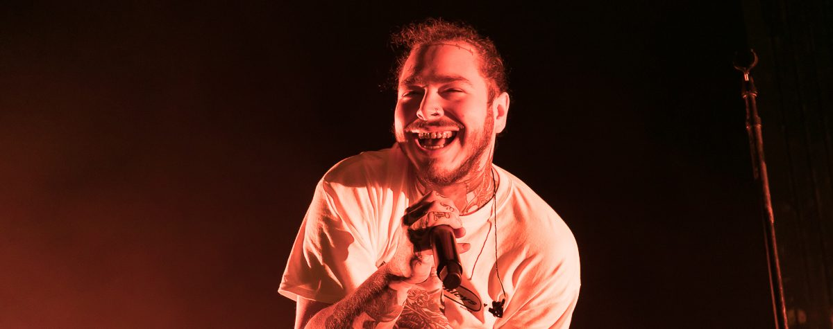 Post Malone at Freedom Hill