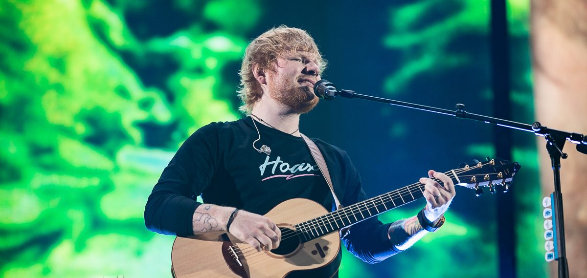 Ed Sheeran's Divide Tour at Ford Field