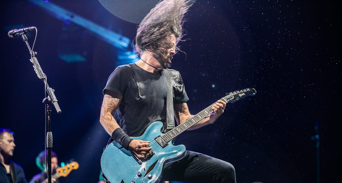 The Foo Fighters at LCA
