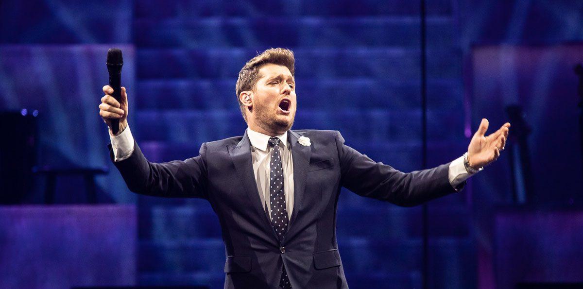 Michael Bublé at Little Caesars Arena