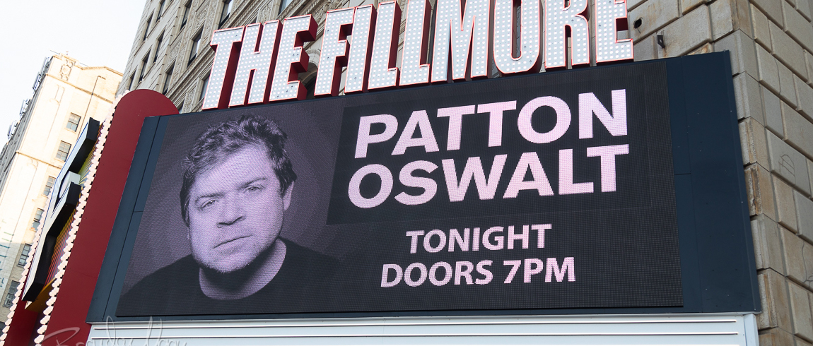 Patton Oswalt and Ron Taylor