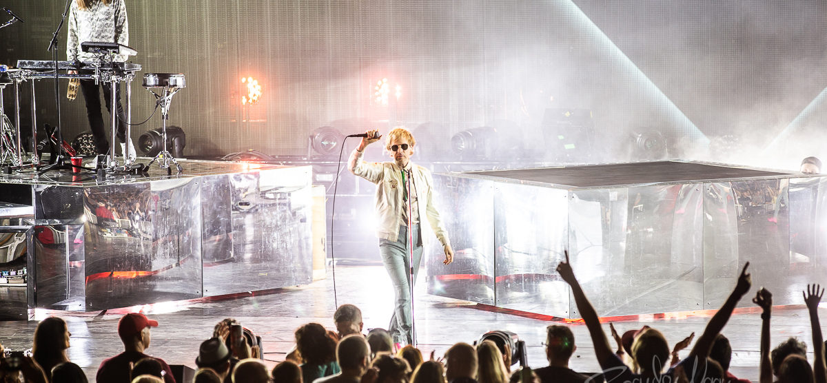 Cage The Elephant and Beck at DTE